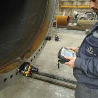 flange control by easy laser