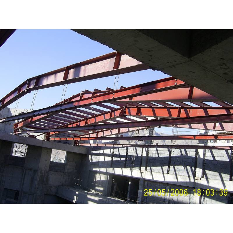 AUDIENCE HALL ROOF CONSTRUCTION OF DRAM THEATHER TURKMENISTAN (2006)