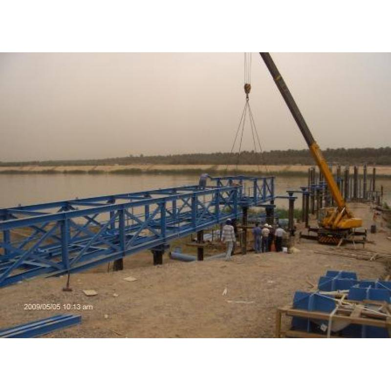 GADERIA WASTE WATER TREATMENT PLANT PIPE BRIDGE (2008)