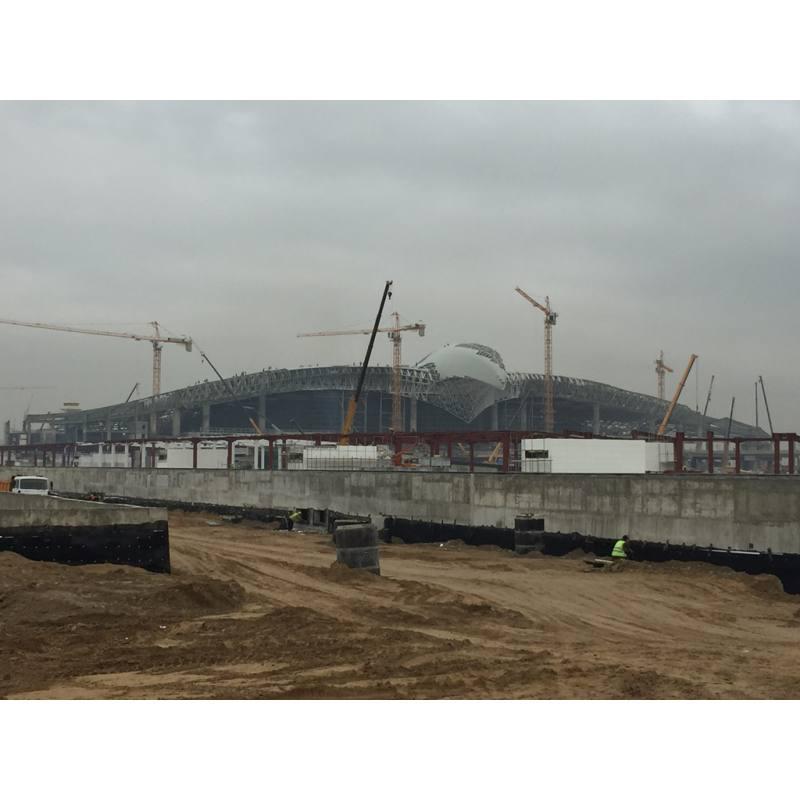 ASHGABAT AIRPORT MAIN TERMINAL BUILDING (2015)