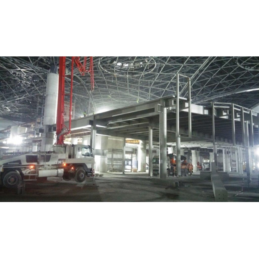 ISTANBUL 3. AIRPORT DUTY FREE AREAS STEEL MANUFACTURING (2018)