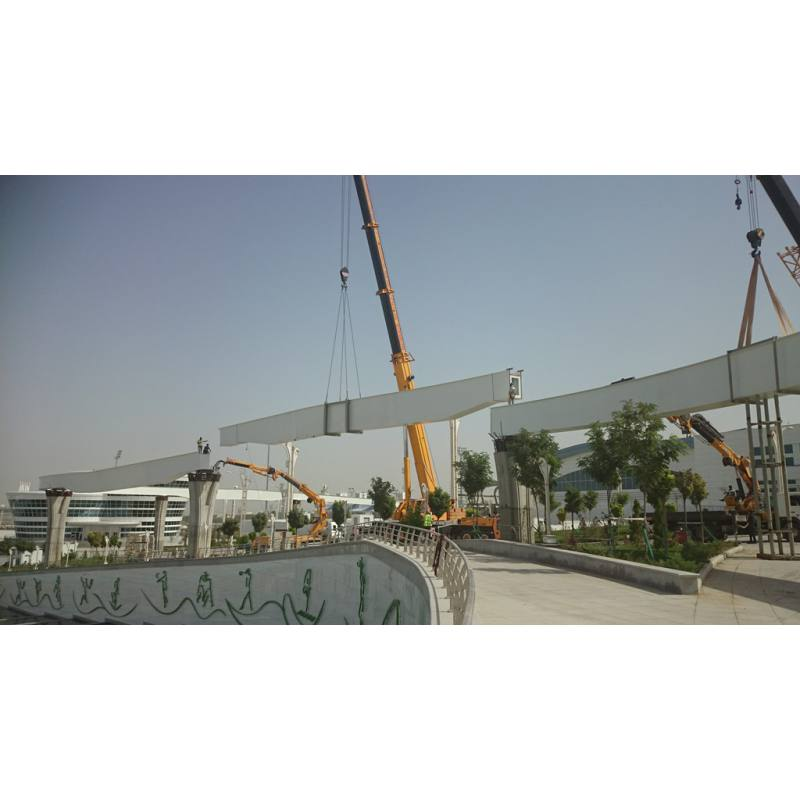STEEL BEAM FOR MONORAIL (2014)